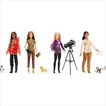 Nat Geo Barbie Sort. Basico