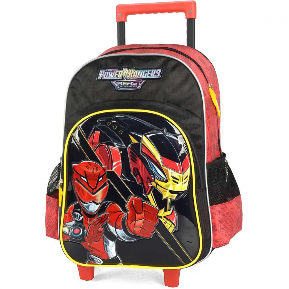 POWER RANGERS GD 3 BOLSOS VERMELHA