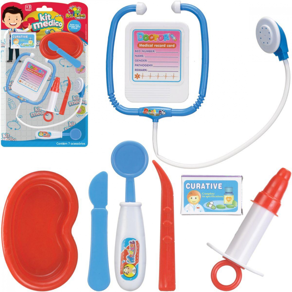KIT MÉDICO BOY 7 PCS
