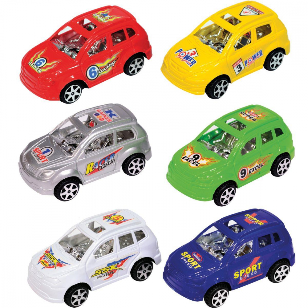 MINI CARROS ADRENALINA 7,5 CM