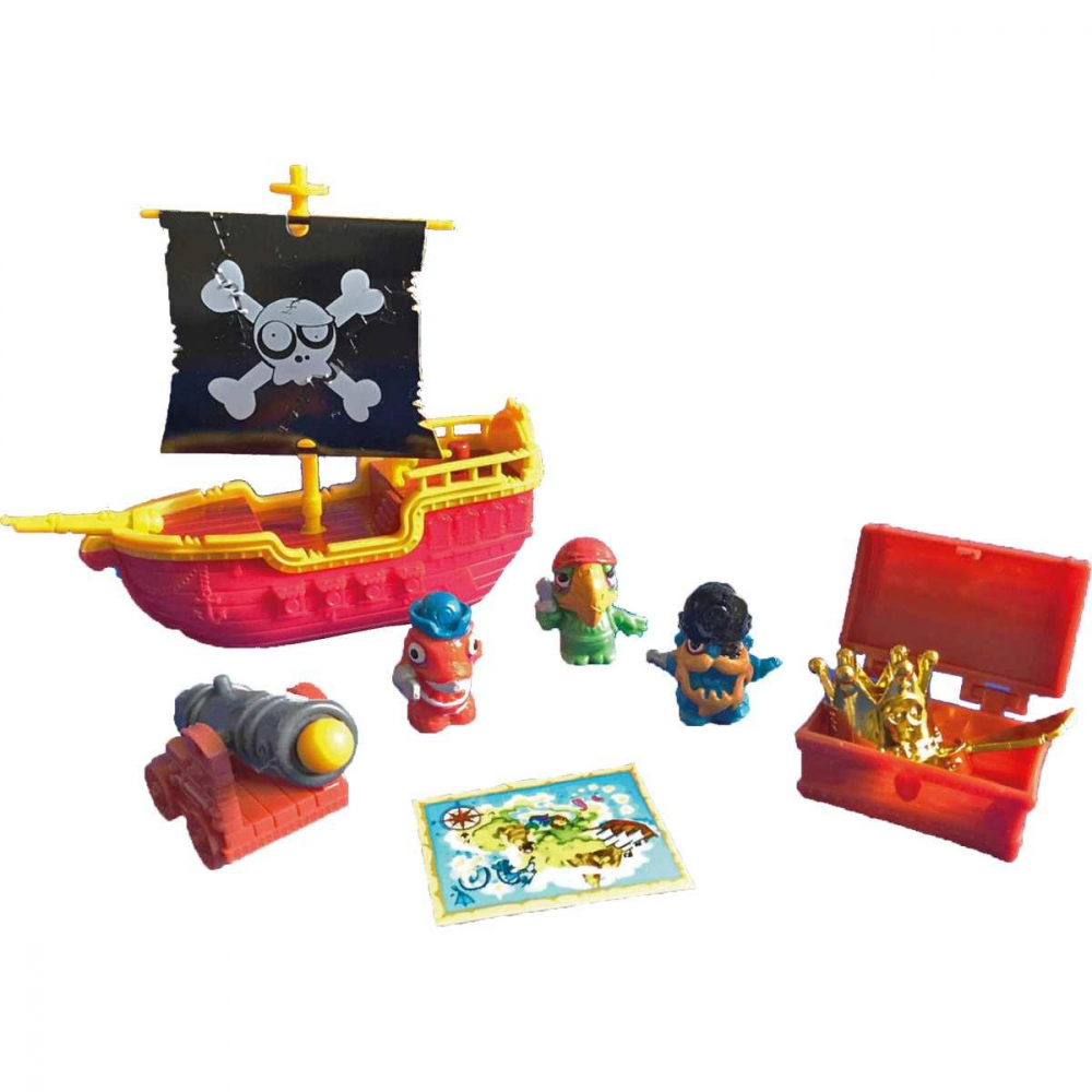 ZOMLINGS PLAYSET NAVIO PIRATA