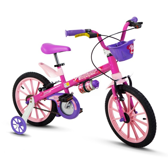 Bicicleta Aro 16 Top Girls