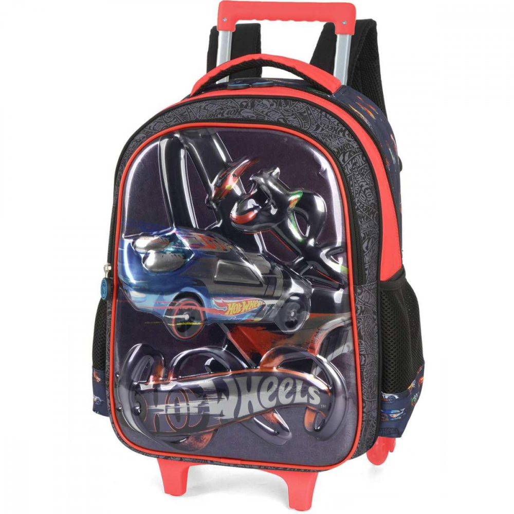 HOT WHEELS GD 3 BOLSOS VERMELHA