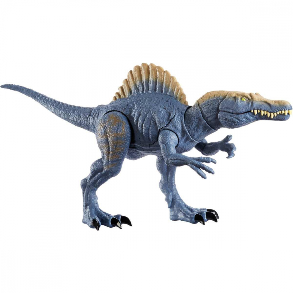 BONECO E PERSONAGEM JURASSIC WORLD ESPINOSSAURO