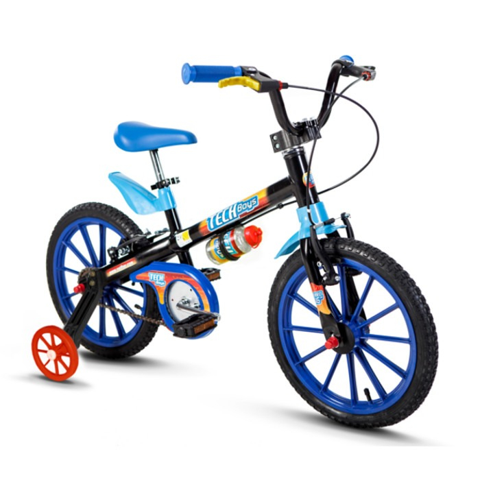 Bicicleta Aro 16 Tech Boys