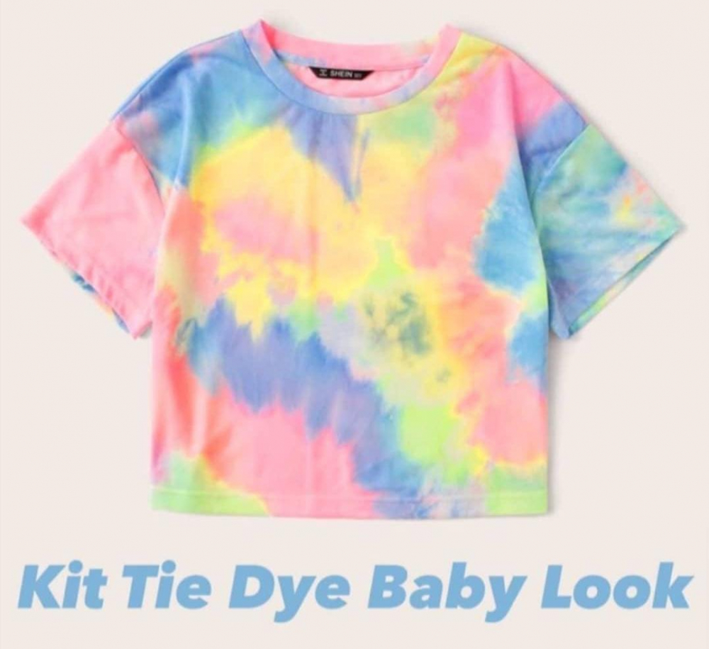 Kit Tie Dye Baby Look