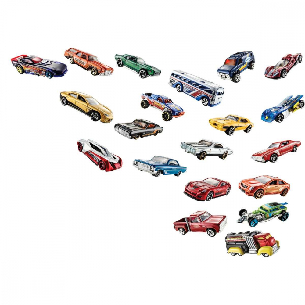 HOT WHEELS C/20 CARRINHOS SORT